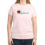 """I Love You"" [Croatian] Women's Pink T-Shirt"