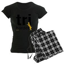 Tri Harder Three Legged GSD  Pajamas