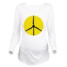 windshirt3 Long Sleeve Maternity T-Shirt
