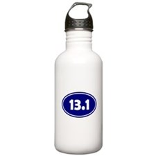 Blue 13.1 Oval Water Bottle