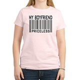 My Boyfriend Priceless Barcode T-Shirt