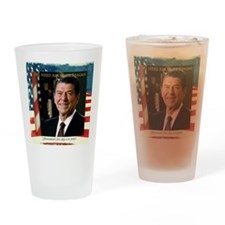 We Need Another Reagan_Sq_12x12 Drinking Glass