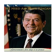 2-We Need Another Reagan_Rect_11x9 Tile Coaster