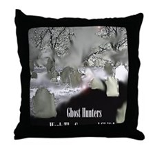 Grave yard shiftbook Throw Pillow