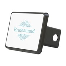 Bridesmaid in blue Hitch Cover