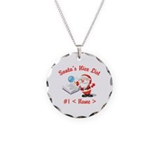 Personalized Santa's Nice List Necklace