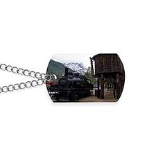 (11) shay locomotive  tower Dog Tags