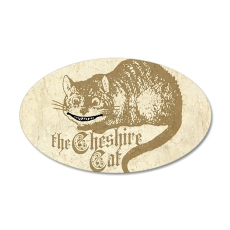 cheshire-cat_13-5x18 35x21 Oval Wall Decal