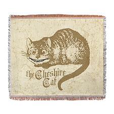 cheshire-cat_b Woven Blanket