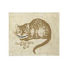 cheshire-cat_12x18 Throw Blanket