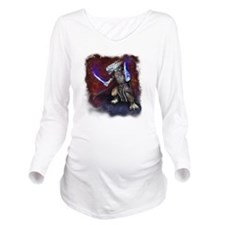 wrath-fade-edges Long Sleeve Maternity T-Shirt
