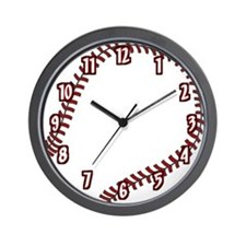 Baseball / Softball Team Wall Clock