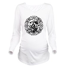 SnakeB1 Long Sleeve Maternity T-Shirt