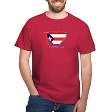 I love Puerto Rico falg T-Shirt