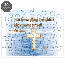 Faith Cross, Bible Verse Puzzle