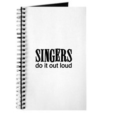 Singers do it Out Loud Journal