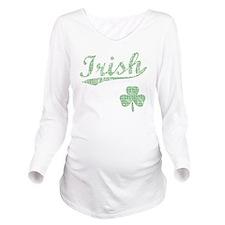 irishbbstyle3 Long Sleeve Maternity T-Shirt