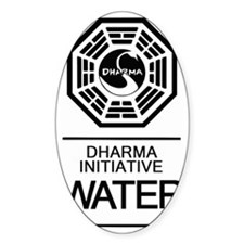 Dharma Water Decal