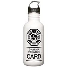 Dharma Card Water Bottle