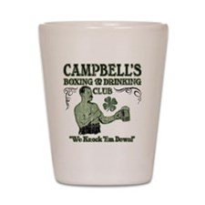 campbells club Shot Glass