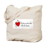 """I Love You"" [Bengali] Tote Bag"