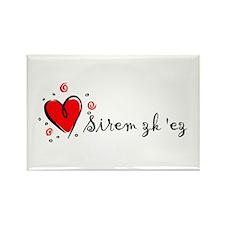 """I Love You"" [Armenian] Rectangle Magnet (10 pack)"