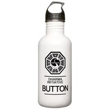 Dharma Button Water Bottle
