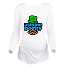 aspo2logoIRISH2a Long Sleeve Maternity T-Shirt