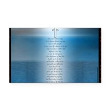 Firefighters.prayer.1.1 Rectangle Car Magnet