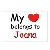 My heart belongs to joana Postcards (Package of 8)