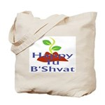 Happy Tu B'Shvat Tote Bag