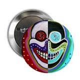 Bickman original 'OM Skull' Button