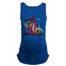 Shirt_DragonTri Maternity Tank Top