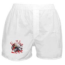Bulldog Love Boxer Shorts
