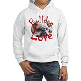 Bulldog Love Jumper Hoody
