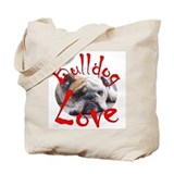 Bulldog Love Tote Bag