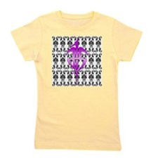 Damask Style 7x7_200dpi copy Girl's Tee