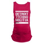 Detroit Techno Militia Maternity Tank Top