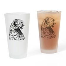 Cheetah_8x10 Drinking Glass