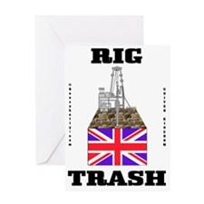 Brit Rig Trash 2a BC use A4 using bb Greeting Card