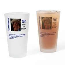 Remember Reagan Drinking Glass