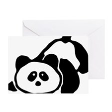 pandabear Greeting Card
