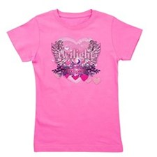 Twilight Eclipse Pink Wings Girl's Tee