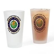 FAA_Logo_Color_HELO-patch Drinking Glass