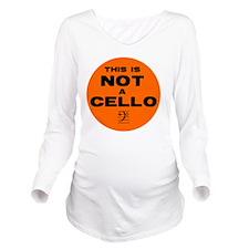 Button Long Sleeve Maternity T-Shirt