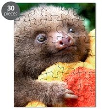 Mateo The Baby Sloth On Puzzle