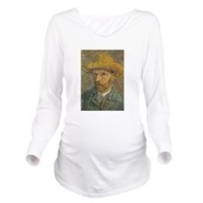 vincent van gogh Long Sleeve Maternity T-Shirt