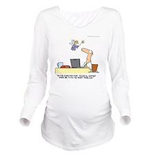645 Long Sleeve Maternity T-Shirt