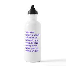 twitter Water Bottle