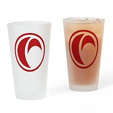 MP_logo3b Drinking Glass